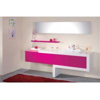 Wholesale Double Sink Bathroom Vanities And Cabinets With Mirror Custom Lacquer Painting from china suppliers