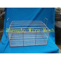 Wholesale metal wire mesh medical cleaning baskets from china suppliers