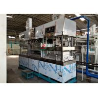 Wholesale Tableware / Dishware Bagasse Fiber Pulp Molding Machine Semi Automatic from china suppliers