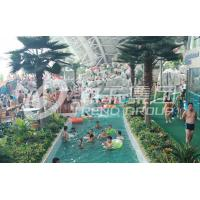 Wholesale Outdoor Holiday Resorts Lazy River Water Park / Fiberglass Waterpark Equipment Customized from china suppliers