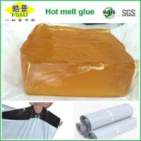 Wholesale EVA Hot Melt Adhesive Brown Transparent , Viscosity 1420CPs/170℃ from china suppliers