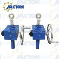 Wholesale hand crank worm gear box, hand crank actuator, hand worm thread lifters from china suppliers