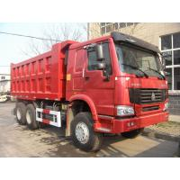 Wholesale heavy loading HOWO dump Truck with Chassis with WABCO System / Strengthen Bumper from china suppliers