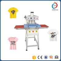 Wholesale Double Sided T Shirt Semi - Automatic Heat Transfer Machine Adjustable Pressure from china suppliers