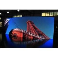 Wholesale P4 Indoor & Outdoor Full Color Led Display / Curved HD Led Display Wide Angle Viewing from china suppliers