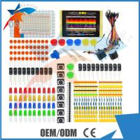 Wholesale LED Resistor Buzzer Breadboard Dupont cable Electronic Starter Kit For Arduino , Universal Parts from china suppliers