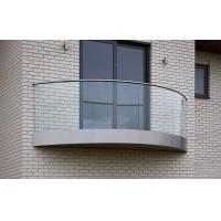 Wholesale curved decking balustrade / balcony balustrade /glass veranda from china suppliers