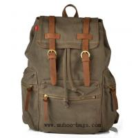 Wholesale Fashion Canvas Laptop Bag,School backpack bag, Sports Travel bag (MH-2107) from china suppliers