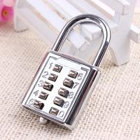 Wholesale 10 key pad PadLock/10 Push Button Combination Password Lock from china suppliers