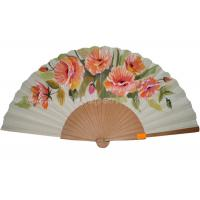 Wholesale Transfer Printing Wooden Hand Fan For Promotion , Gift , Souvenirs Aesthetical from china suppliers