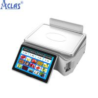 Wholesale PC POS Touch Scale,Touch Screen Scales,Fiscal Cash Register,PC Scale from china suppliers