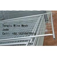 Quality Hot Dipped Galvanized Welded Wire Mesh Temporary Fence 50X50, 60X60, 75X75, 50X150, 60X150, 75X150 for sale