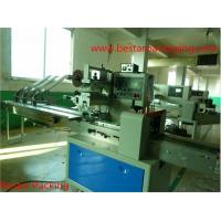 Wholesale candy flow pack machine with automatic revolving feeder from china suppliers