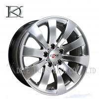 Wholesale Auto Replacement SUV Alloy Wheels Rims , 17 Inch 4x4 Wheels Black from china suppliers