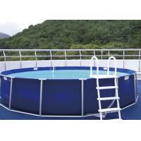 Wholesale Personal Use Steel Frame Pool , Metal Frame Paddling Pool EN71 from china suppliers