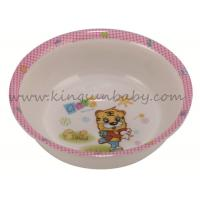 Wholesale Square Kids Dinner Ware Melamine Baby Feeding Bowl Non toxic Eco friendly from china suppliers