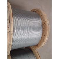 Wholesale ASTM A 475 Galvanized Stranded Steel Wire For Overhead Fiber Optic Cable from china suppliers