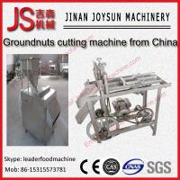 Wholesale Peanut Cutting Machine Badam Strips Cutting Machine / Slivering Machine from china suppliers