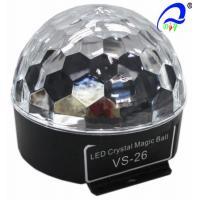 Wholesale VS-26+ Sound LED 3*3W RGB Magic Ball With Bluetoooth Christmas Disco Effect Lights from china suppliers