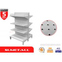 Wholesale Commercial Gondola Store Shelving Four Layers Peg Board Panel For Supermarket from china suppliers