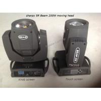 Quality Beam 200 5r Sharpy Moving Head Lights Portable Stage Lighting With 1 Color / Gobo Wheel for sale