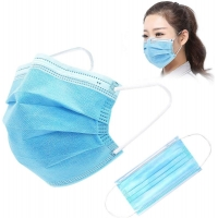 Wholesale Disposable Gauze 10PCS FDA Earloop 3 Ply Face Mask from china suppliers
