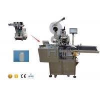 Wholesale Round Bottle Labeling Machine / Flat Label Applicator With Date Printer from china suppliers