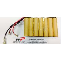 Wholesale Customized NiCd Sub C Battery Packs  from china suppliers