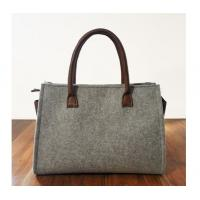 Wholesale Professional custom all kinds of eco fashionable bag Trendy felt tote bag from china suppliers