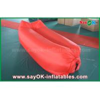 Wholesale Inflatable Beach Sleeping Air Bag Camping Lying Bag Easy Opening Nylon Material from china suppliers