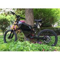 Quality Long Range Full Suspension Motorized Mountain Bike With Carbon Steel Frame for sale