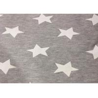Buy cheap Star Printed Polyester Knit Fabric High Density For Home Textiles Comfortable from wholesalers