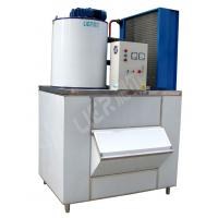 Quality Health Ice Flake Maker , Small Commercial Ice Machine 2000kg Ice Capacity for sale