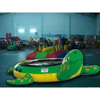 Wholesale Turtle Jump Water Trampoline Inflatable Water Games For Water Park from china suppliers