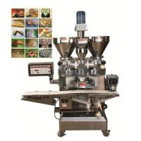 Plastic Hopper Dough Encrusting Machine for Mochi Pie Bread Production Line , Pastry Machine