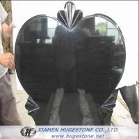 Wholesale Big Heart Shaped Granite Tombstone, Love Expression Granite Monuments from china suppliers