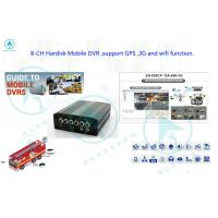 Buy cheap Wireless Networks GPS SD Card Mobile DVR 4 Video Support PTZ Remote Control from wholesalers