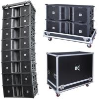Wholesale Professional Line Array Speakers Dual 12'' Powered Musical Instrument , Active Pa Speaker from china suppliers