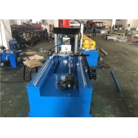 China C Shaped Steel 18.5KW Channel Rolling Machine With Non Stop Cutting on sale