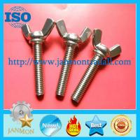 Buy cheap Wing nuts, Zinc plated butterfly lock wing nut,Stainless steel wing nuts,Brass wing nuts,Copper wing nuts,Butterfly nuts from wholesalers