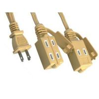 Wholesale UL Flat Extension Cord Nema 1 - 15R Extension Cord Plug from china suppliers