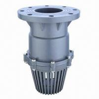 Quality flanged foot valve with 2 189 to 8 inch sizes and socket thread
