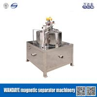 Wholesale 30000 Gauss Slurry Wet Magnetic Separator With High Gradient Magnetic Field from china suppliers