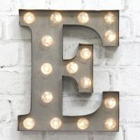 Wholesale LED Light Bulb Signs Letters ,  Illuminated Small Marquee Letter Lights from china suppliers