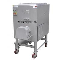Wholesale 180 L Metal Industrial Meat Mincer 8.6Kw Power Variable Speed 380V 50Hz Voltage from china suppliers