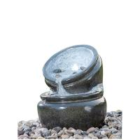 Wholesale Traditional Black Marble Cast Stone Fountains Outdoor In Magnesia Material from china suppliers
