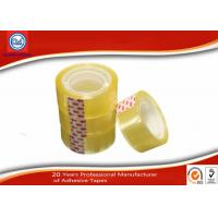 Wholesale Yellowish transparent Easy Tear 12mm BOPP Stationery Tape For Art School Student from china suppliers