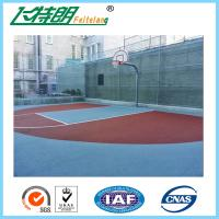 Wholesale Recycled Basketball Court Flooring Gym Floor Coating Tennis Court Paint 3mm from china suppliers