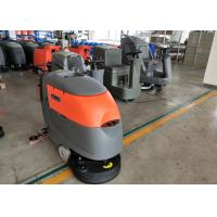 Wholesale Small Square Brick Floor Cleaning Machines / Commercial Floor Scrubber from china suppliers