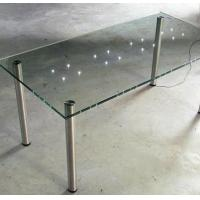 Wholesale Laminated Led Tempered Glass Furniture for Hotel Furnishing Glass Table from china suppliers